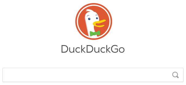 Zoekmachine DuckDuckGo