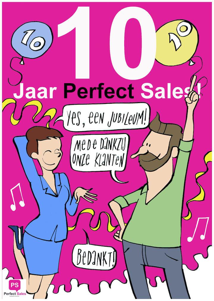 Jubileum 10 jaar Perfect-Sales